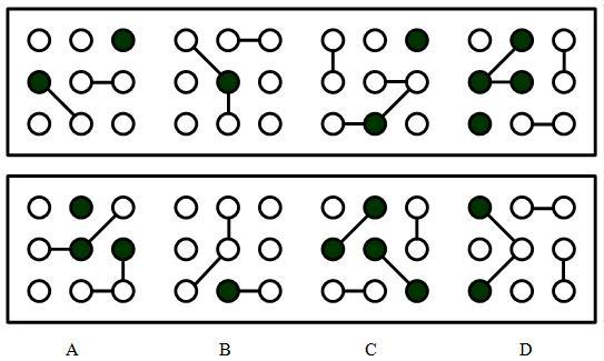 图形推理——特殊图形变化规律图片