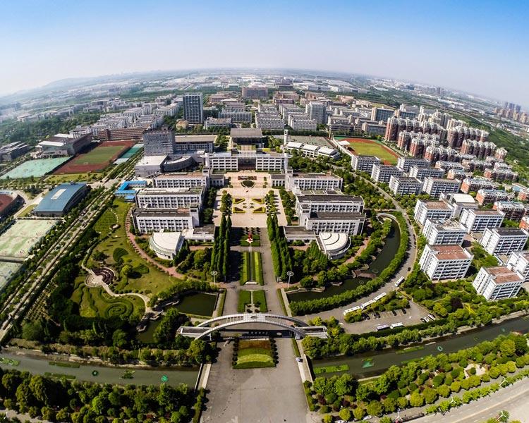 青岛科技大学崂山航拍