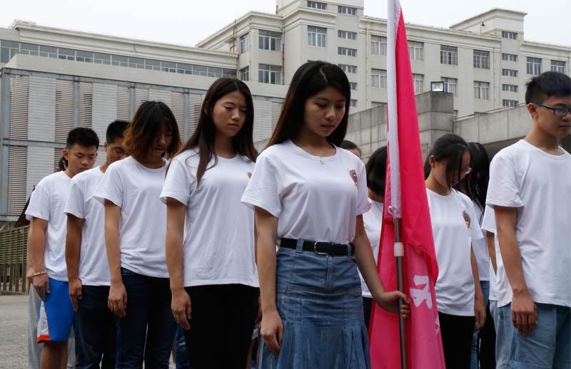哀致敬.摄影 北京师范大学 李幸雪-参访西南联大旧址 人才摇篮毛坯