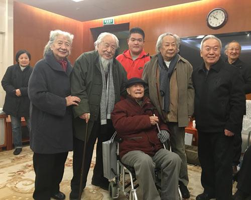 多位耄耋老画家助力中国美术馆壁画精品展