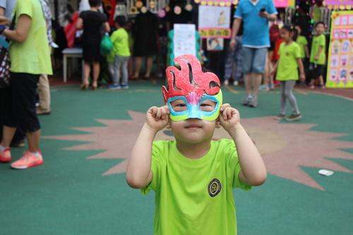 北京精诚v亲子幼儿园亲子文化节之首届游园开衣服用情趣内衣做图片