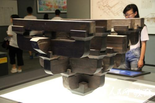 斗拱结构分解图动画