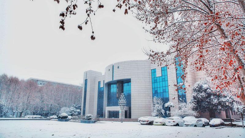 高校雪景图大合集来了,哪一张惊艳了你?