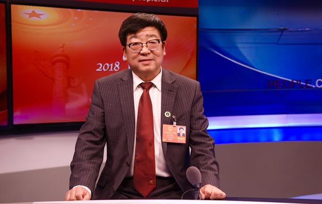 全国人大代表、西北农林科技大学校长吴普特做客人民网