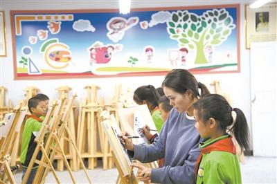 课外活动丰富农村孩子生活