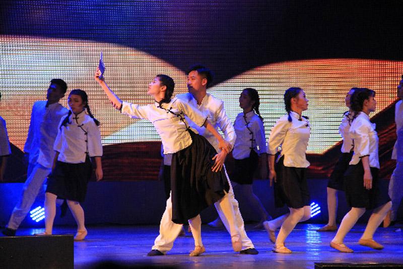 舞蹈大赛决赛现场