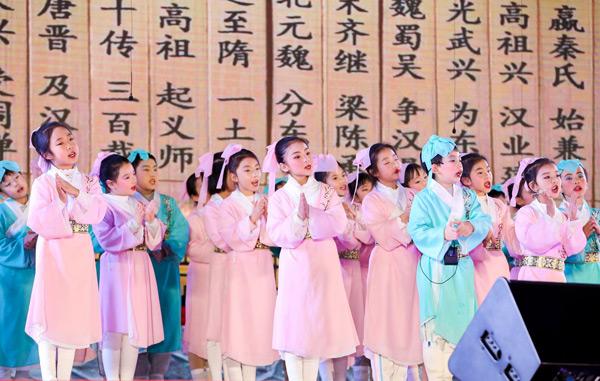 """北航实验学校举办第十三届""""蓝天杯""""诵读汇"""