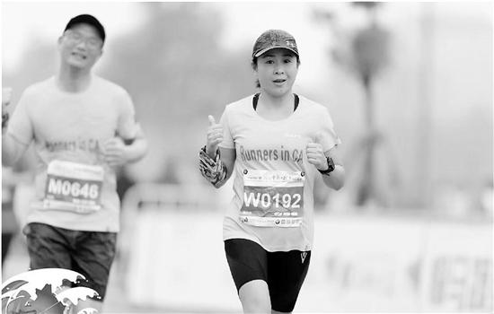 45岁宿管大姐是马拉松达人两年跑了13场马拉松