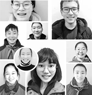 杭十中收集了500多张笑脸除了学习还有很多有意义的事