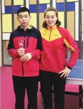 武汉初中生入选国乒 一年内三次问鼎