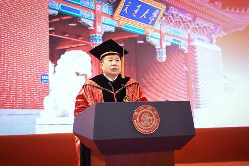 上海交大校长林忠钦在2019年研究生毕业典礼上的演讲