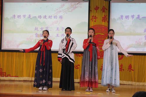 平谷三中:弘扬传统文化,共抒爱国情怀