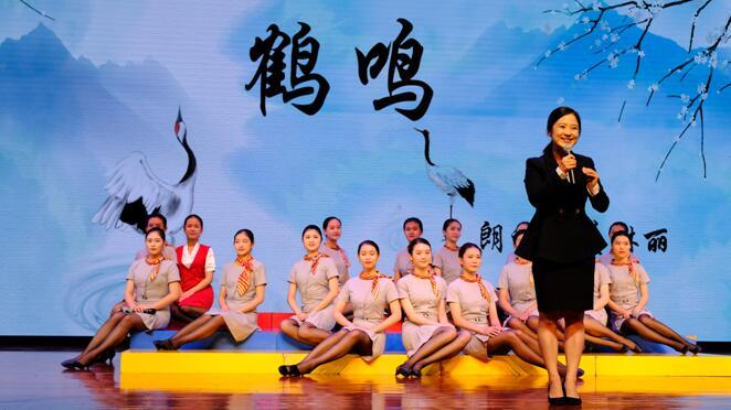 传承经典,诵读百家深圳技师学院别具一格推进校园传统文化建设
