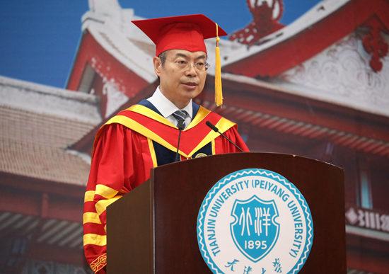天津大学校长金东寒:为梦想而奋斗