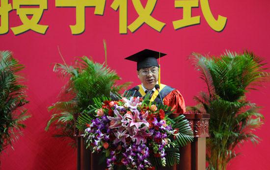 北京工业大学校长柳贡慧:知书达理,知行合一