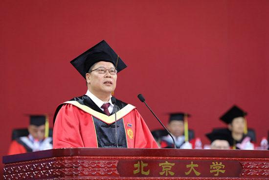 北京大学党委书记邱水平:有所信、有所为、有所守