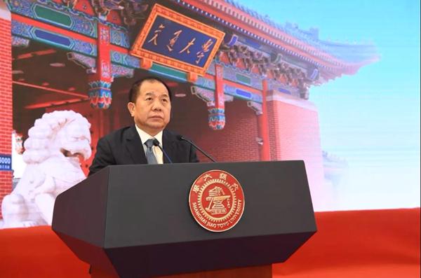 上海交通大学校长林忠钦:勤奋为学 爱国荣校