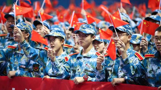 <b>北京科技大学:青春告白祖国 激扬奋斗情怀</b>