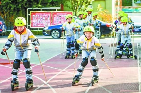 北京市市级冰雪示范校总数明年将达200所