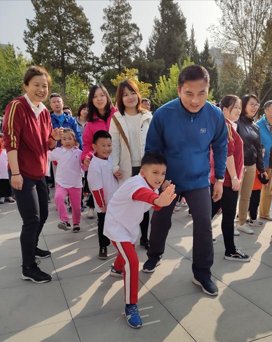中國兒童中心中華文化特色實驗班親子運動會