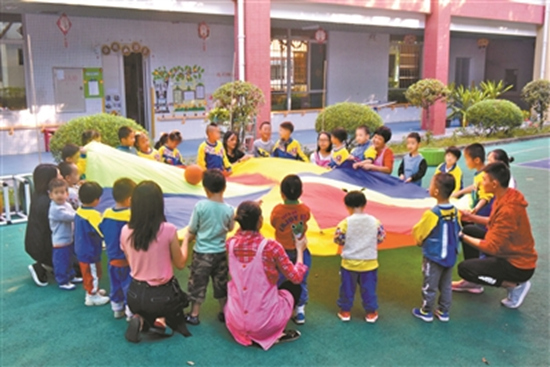 """这所特殊幼儿园有27个""""天使"""""""
