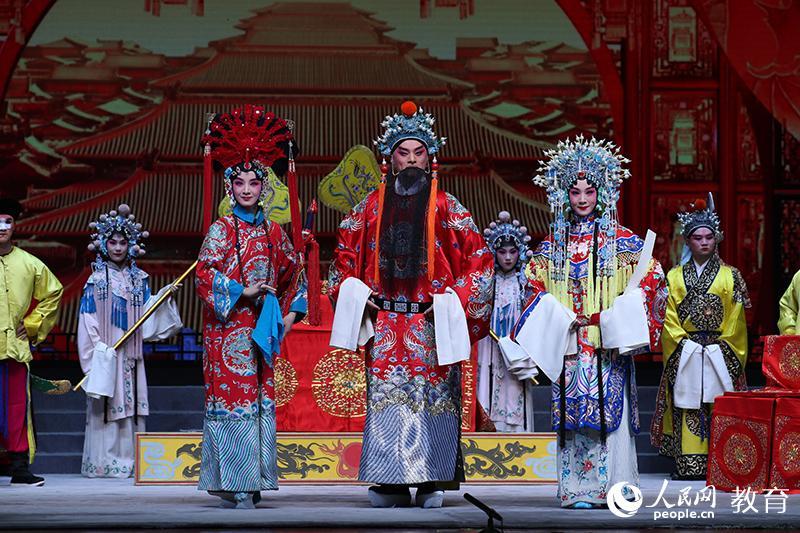 中国戏曲学院表演系多剧种办学10周年 覆盖24个剧种