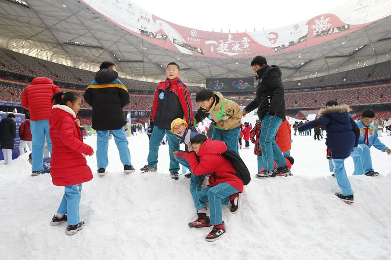 北京市中小学生奥林匹克冬令营(丁柏明/摄)