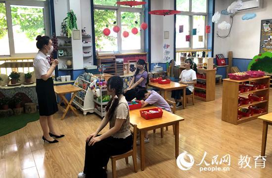 """北京市幼儿园6月8日起陆续复园 安全防疫成为孩子""""入园礼"""""""