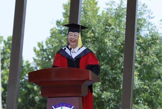北京中医药大学党委书记谷晓红寄语毕业生:忠诚事业,牢记责任与担当