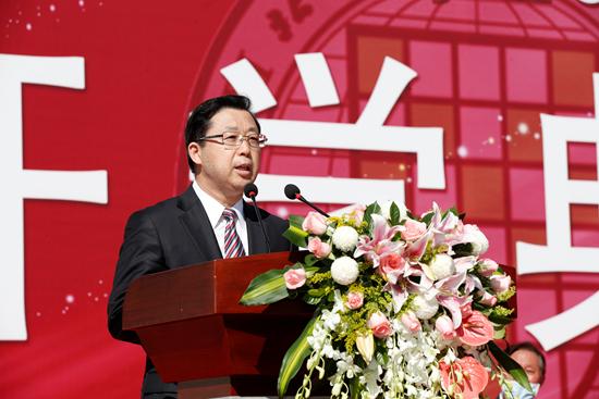 北京语言大学校长刘利:把优秀作为一生的追求