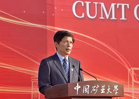 中國礦業大學校長在新生開學典禮發表你講話