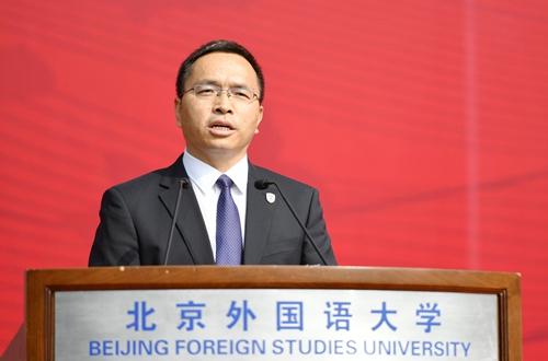 北京外国语大学校长杨丹:用世界定义人生,从这里走向世界