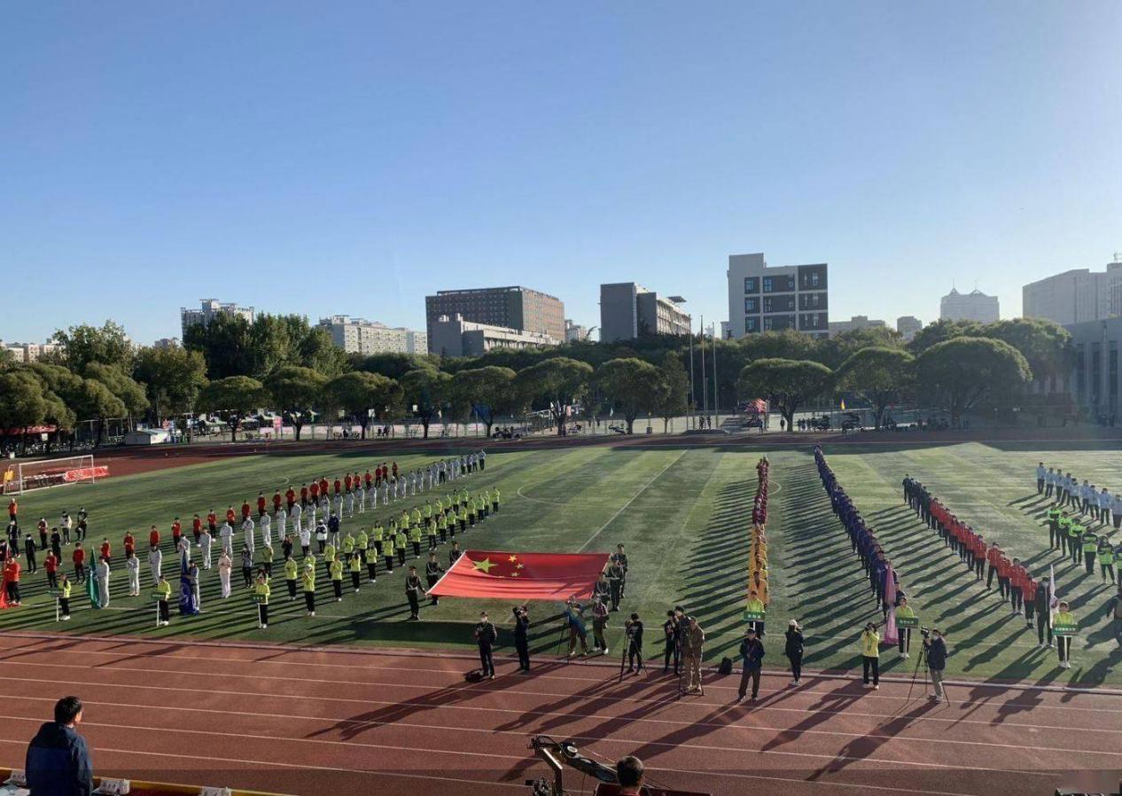 首都高校第58届暨第十二届秋季学生田径运动会在北京工业大学举行