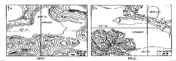 梯田景观手绘图