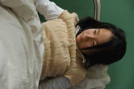 吞药入院女生