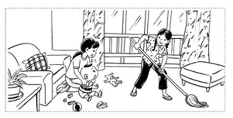 幼儿园建构区搭建步骤简笔画