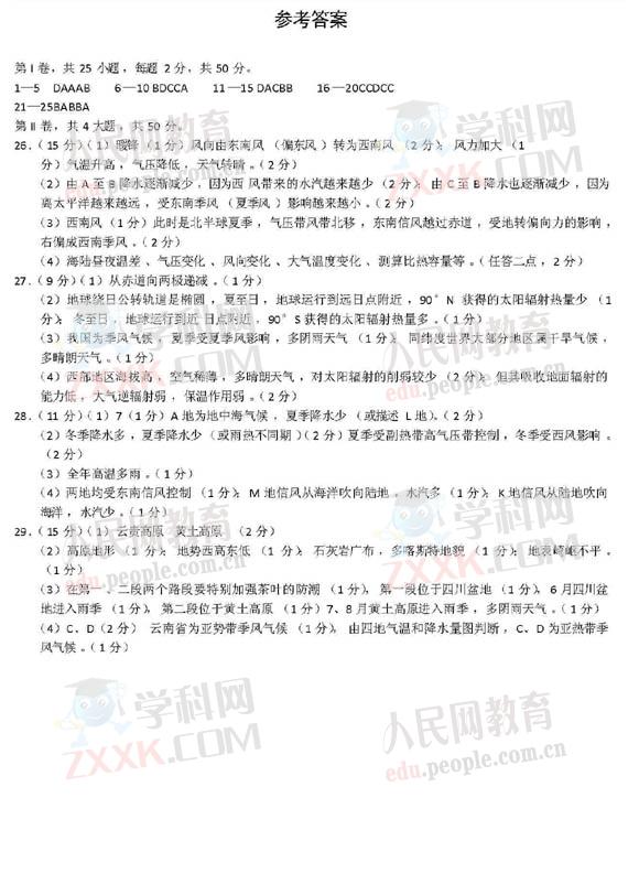 信阳河南09散文毕业班第一次v散文(高中)(6)--教高中如何阅读地理图片