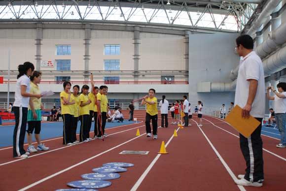 庆国际儿童节:少儿趣味田径运动会 (11)