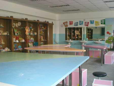 沙板庄小学劳动技术专用教室