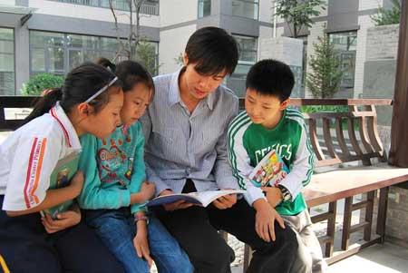 垂杨柳中心小学:创建除法阳光(2)--人民网v小学小学题目校园图片