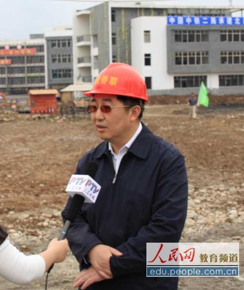 中国侨联副主席乔卫:新建北川中学账目将公布