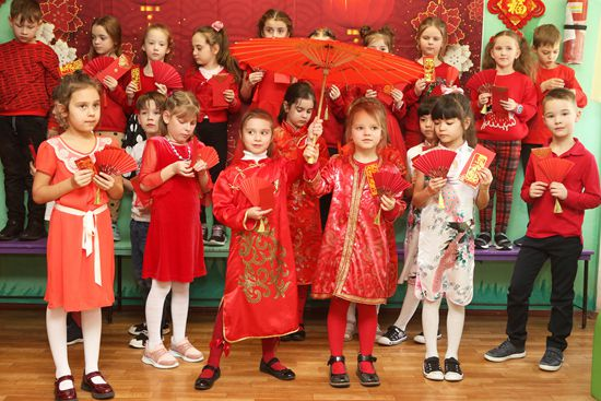 感悟中华传统文化共庆欢乐中国年