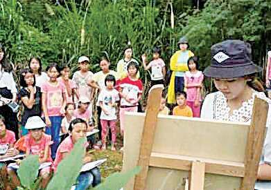 孩子们多么渴望一堂美术课 ——广州美院青年教师扶贫印象