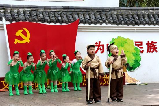 吴忠法治网淮北市抓在经常融入日常引领青少年学党史心向党