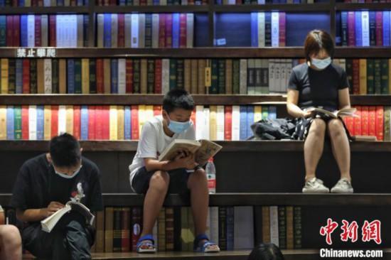贵阳市民书店避暑觅书香