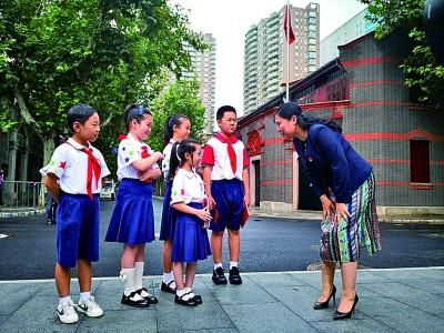 升学教育:上海市黄浦区卢湾一中心小学校长吴蓉瑾用爱的教育传递红色火种