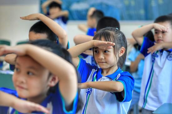 升学教育:四川泸县中小学、幼儿园有序组织开学